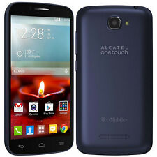 Alcatel One Touch Fierce 2 7040T - 4GB - Navy Blue (T-Mobile) Smartphone (A)