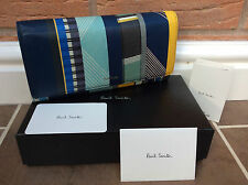 PAUL SMITH LEATHER FONTANA STRIPE TRIFOLD PURSE BNIB RETAIL £265 MADE IN ITALY