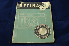 RETINA GUIDE Manual Instructions Book Focal Press 3rd Edition 1948