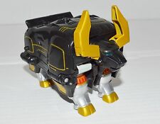 Power Ranger Wild Force Deluxe Black Bison Megazord
