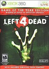 Left 4 Dead (Game of the Year Edition)  (Microsoft Xbox 360, 2009)