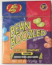 JELLY BELLY BEAN BOOZLED 45g BOX TRICK WEIRD WILD FLAVOURED BEANS 3RD EDITION