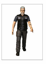 Boxed Mezco Sons Of Anarchy Action Figure 6'' CLAY MORROW