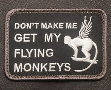 GET MY FLYING MONKEYS USA ARMY MILITARY BADGE SWAT VELCRO® BRAND FASTENER PATCH