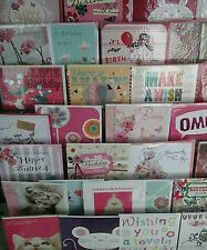 50 female birthday cards wholesale joblot greeting cards