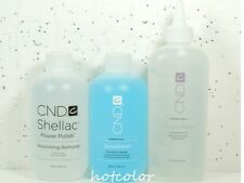 CND Shellac ScrubFresh Cleanser 8oz Nourishing Remover8oz CuticleAway 6oz of Set