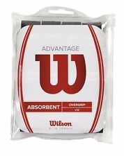 Wilson Advantage Overgrip (12 pack) - Black