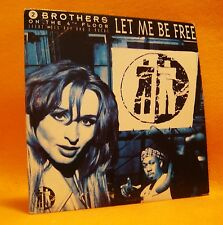 Cardsleeve single CD 2 Brothers On The 4th Floor Let Me Be Free 2TR 1994 House