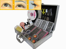 False Eyelash lash Extensions Kit with Case Semi-Permanent Waterproof Odorless