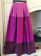 Temperley maxi full length ball skirt, US sz 2 PINK fully lined elegant