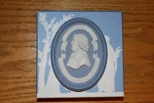 Wedgwood 250 Anniversary Pale Blue Jasper Ware Signed Lord Wedgwood Plaque
