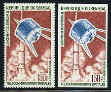 Space Raumfahrt 1964 Senegal Satellit Syncom II 290 A + U Perf Imperf/1206