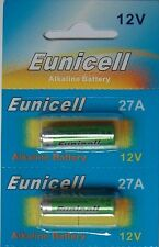 2 Piles Alcaline 12V A27 27A Super Power Battery Alkaline Mn27 Gp27a L828 El812