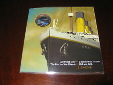2012 Canada 25 cents coloured coin R.M.S. Titanic