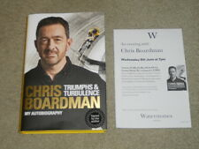 CHRIS BOARDMAN: TRIUMPHS & TURBULENCE MY AUTOBIOGRAPHY: SIGNED FIRST EDITION