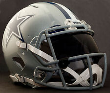 DALLAS COWBOYS NFL Gameday REPLICA Football Helmet w/ OAKLEY Eye Shield
