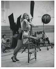JANE FONDA: 18-year-old Cheerleader in TALL STORY: Original Photo Autographed