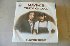 "MAYFAIR""TRAIN OF LOVE-disco 45 giri CBS Italy 1976"" RARO"""