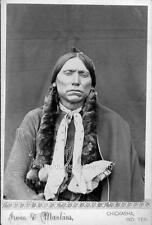 Photo ca 1879 Comanche Indian Chief 'Quanah Parker'