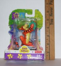 FISHER PRICE 2000 EDITION TIGGER FROM WINNIE THE POOH FIGURINE NIP #66611
