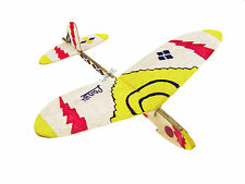 Lanyu Hand Launch Balsa Wood Glider Plane DIY Build&Paint Model Kit, US 7011