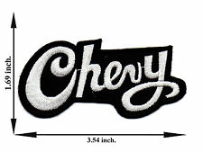 Chevy Chevrolet Car Racing Automobile Logo Applique Iron on Patch Sew For Jeans