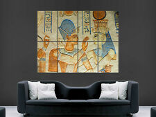 EGYPTIAN HIEROGLYPHS  GIANT ART PRINT POSTER PICTURE