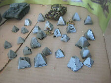 12 Tank Traps Dragon teeth for 15mm Wargame scenery WW2 FOW Flames of WAR
