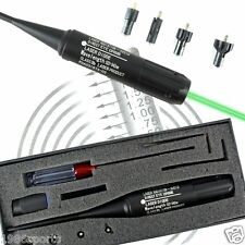 New Boresighter Kit for .22-.50 Caliber Green dot laser sight bore sighter #j15
