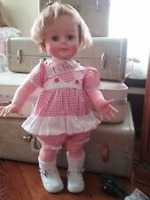 "Ideal Kissy Doll Vintage 22"" Original Dress"