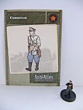 COMMISSAR, AXIS & ALLIES - BASE SET, 3/48, c/w CARD