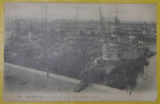 World War I L' Arsenal Ship La Defense Mobile Early1900s Cherbourg France PostCd