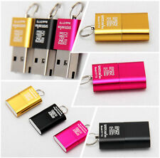 Useful Mini USB 2.0 Micro SD TF T-Flash Memory Card Reader Adapter Up To 480Mbps