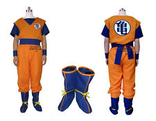 DBZ Dragon Ball Z Son Goku KAI VEGETA Saiyans Cosplay  costume Anime  full set