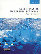 Essentials of Marketing Research by Tony Proctor (Paperback, 1999)