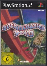 Rollercoaster World  (PS2) In Box, mit Anleitung