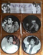 """Prince - Interview 4x7"""" Picture Disc Collection"""