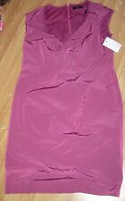 BNWT Esprit party Purple (Mauve) dress size 16 sleeveless knee length RRP £159