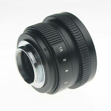 25mm C mount CCTV Lens for wide APS-C sensor camera M4/3 NEX FX EOSM N1 P/Q