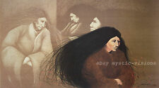 Frank Howell STANDING ROCK WOMEN S/N CANVAS  Native American Indian