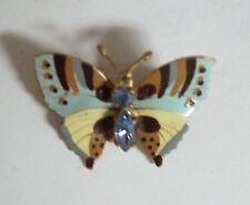 Sweet Vintage Enamel CZECHOSLOVAKIA Butterfly Pin