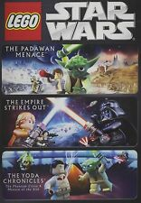 STAR WARS LEGO DVD TRIPLE PACK - Padawan Menace/The Empire Strikes out/The Yoda