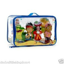 New Disney Store Jake and the Neverland Pirates figures   6 bath toys Playset