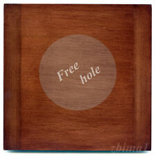 "1 Wooden Lens Board 6x6"" for 2D Eastman / B&J 8x10"" of Solid Mahogany, free hole"