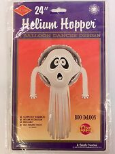 Beistle 24in Helium Hopper Boo DeLoon Ghost Halloween Helium Balloon Dancer NOS