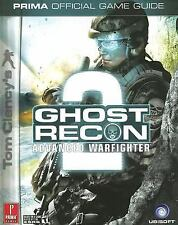 Tom Clancy's Ghost Recon Advanced Warfighter 2 Prima Games Strategy Guide