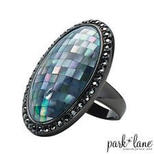 Park Lane Hilo Mother of Pearl Mosaic Ring Size 8