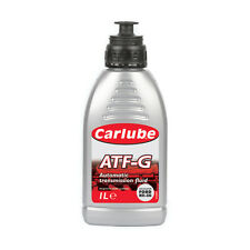 Carlube ATF-G Automatic Transmission Power Steering Fluid Type 33G - 1 Litre