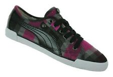 Puma Corsica Plaid Womens Damen Winter Sneaker Schwarz Gr. 36