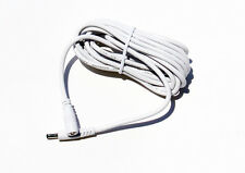 White extension cord compatible with foscam cameras 10 feet long 5 Volt indoor